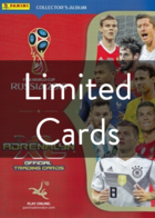 FIFA World Cup Russia 2018 - Adrenalyn XL - International Limited Cards (Panini)