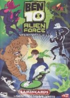 BEN 10 Alien Force Virtual Series Lamincards (Edibas)