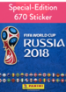 FIFA World Cup Russia 2018 - 670 Sticker-Edition (Panini)