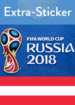 FIFA World Cup Russia 2018 - Extra-Sticker AT (Panini)